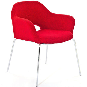 Cordelia Dining Armchair Red Chair