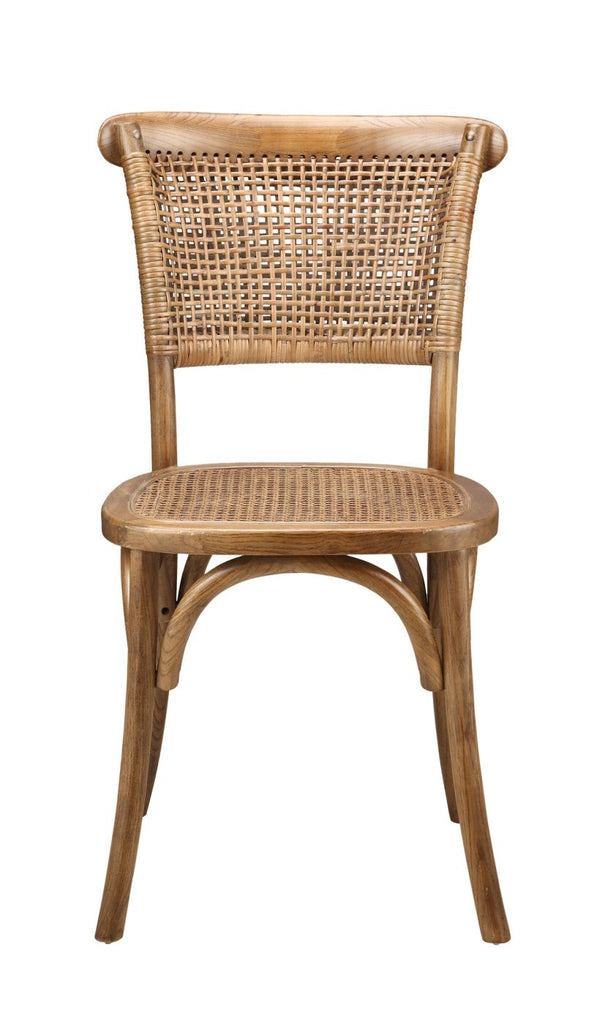 Moes Home Collection Churchill Dining Chair Set Of 2 Solid Elm