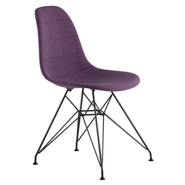 sports shoes f6895 e9dce Buy Nye Koncept 331005EM1 Mid Century Eiffel Side Chair Plum Purple at  Contemporary Furniture Warehouse