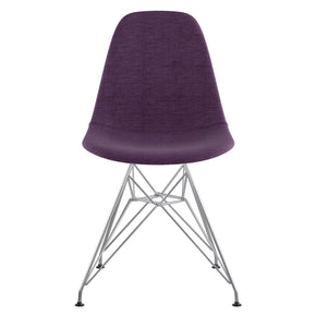 Dining Chairs - Nye Koncept 331005EM1 Mid Century Eiffel Side Chair Plum Purple | 815444025676 | Only $139.80. Buy today at http://www.contemporaryfurniturewarehouse.com