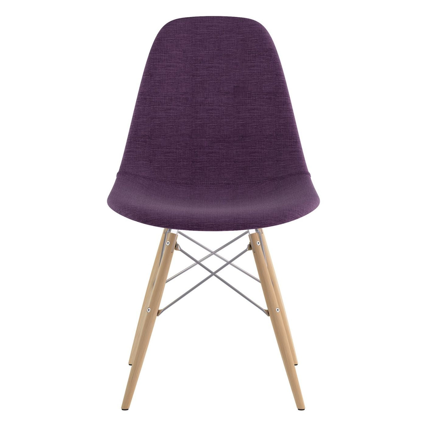 Purple dining chairs at contemporary furniture warehouse