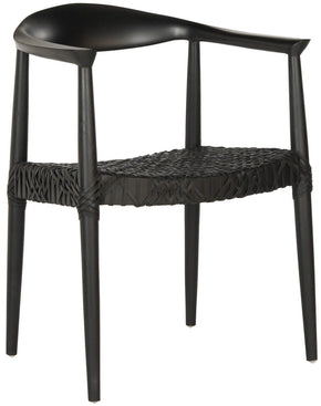 Bandelier Arm Chair Black Dining