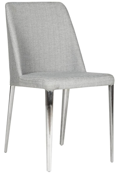 Baltic Side Chair Linen Grey (Set Of 2) Dining
