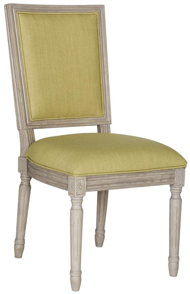 Buchanan Rect Side Chair Spring Green (Set Of 2) Dining