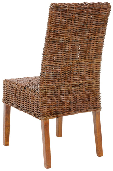 Sanibel Rattan Side Chair (Set Of 2) Light Brown Dining