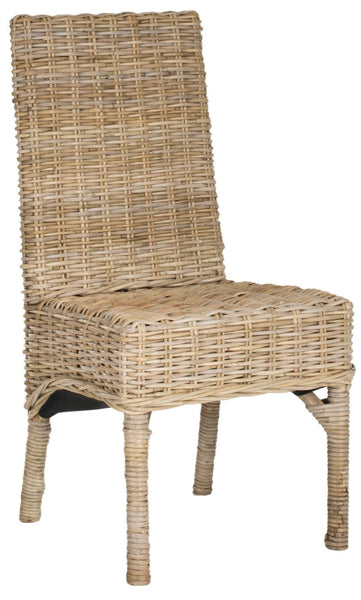 Beacon Rattan Side Chair Natural Unfinished Dining