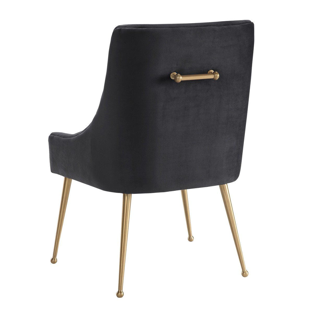 Beatrix Grey Velvet Side Chair Dining Beatrix Grey Velvet Side Chair Dining  ...