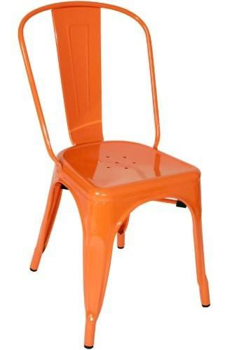 Swell Vig Furniture Vgcbt5816 Orange Elan Modern Orange Metal Side Chair Set Of 4 Sale At Contemporary Furniture Warehouse Today Only Camellatalisay Diy Chair Ideas Camellatalisaycom