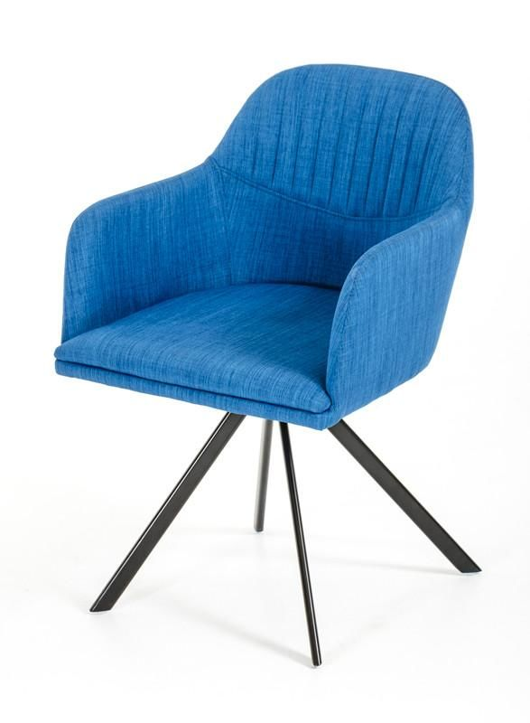 Magnificent Vig Furniture Vgeumc 8112Ch A Blu Modrest Synergy Modern Blue Fabric Dining Arm Chair Sale At Contemporary Furniture Warehouse Today Only Inzonedesignstudio Interior Chair Design Inzonedesignstudiocom
