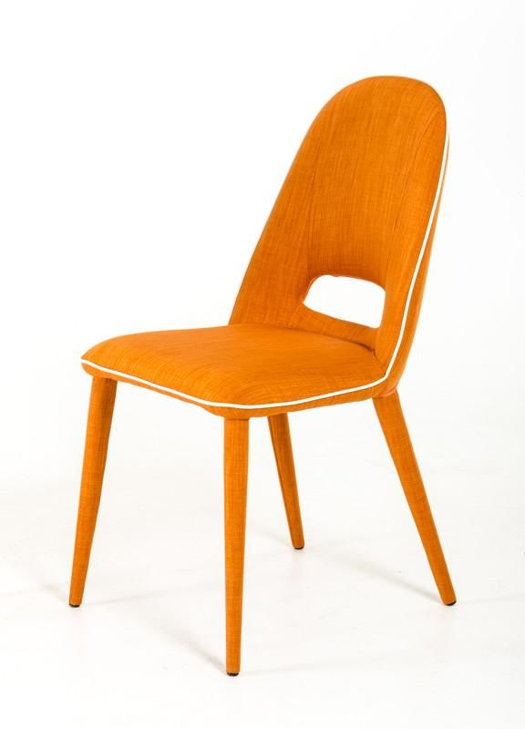 Wondrous Vig Furniture Vgeumc 8161Ch Modrest Eugene Modern Orange Fabric Dining Chair Set Of 2 Sale At Contemporary Furniture Warehouse Today Only Camellatalisay Diy Chair Ideas Camellatalisaycom