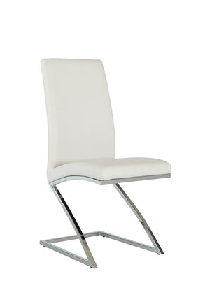 Modrest Angora Modern White Dining Chair (Set Of 2)