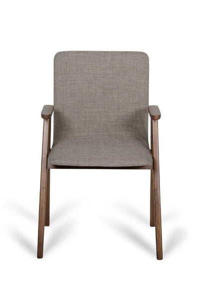 Vig Furniture VGMAMI-562A-SES Modrest Maddox Modern Sesame & Walnut Dining Chair (Set of 2) | 840729140720 | $349.80. Dining Chairs. Buy today at http://www.contemporaryfurniturewarehouse.com