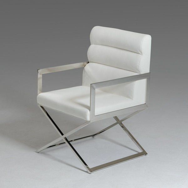 Buy Dining Chairs By Ryc Furniture Online: Buy Vig Furniture VGVCB8108VG-WHT Modrest Capra Modern