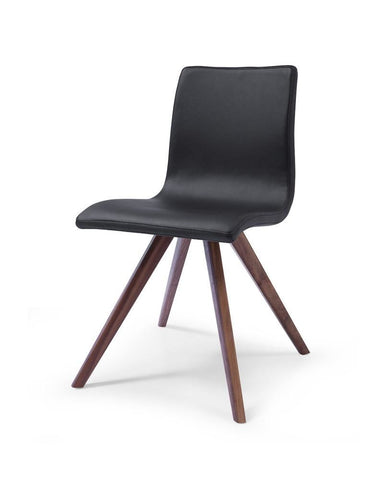 Buy Whiteline Dc1243p Blk Olga Dining Chair Black Eco