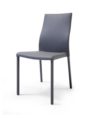 Ellie Dining Chair Gray Eco Leather