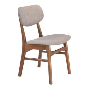 Dining Chairs - Zuo Modern ZUO-100111 Midtown Dining Chair Dove Gray Rubberwood (Set of 2) | 816226030796 | Only $316.80. Buy today at http://www.contemporaryfurniturewarehouse.com