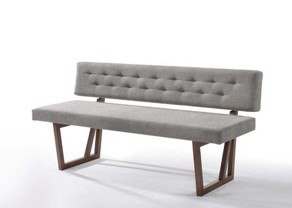 Vig Furniture Vgmajordan Set 1 Modrest Jordan Modern Walnut Grey