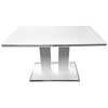 Dining Tables - Armen Living LCAMDIWHTO Amanda Dining Table White | 700220755901 | Only $600.00. Buy today at http://www.contemporaryfurniturewarehouse.com
