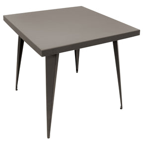 Austin Industrial Dining Table Antique Finish