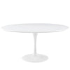 "Dining Tables - Modway EEI-1120-WHI Lippa 60"" Round Wood Top Dining Table 