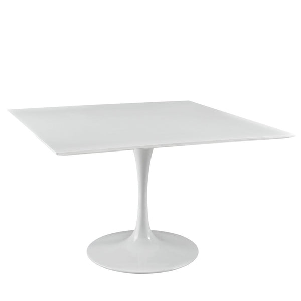 Lippa 47 Square Wood Top Dining Table