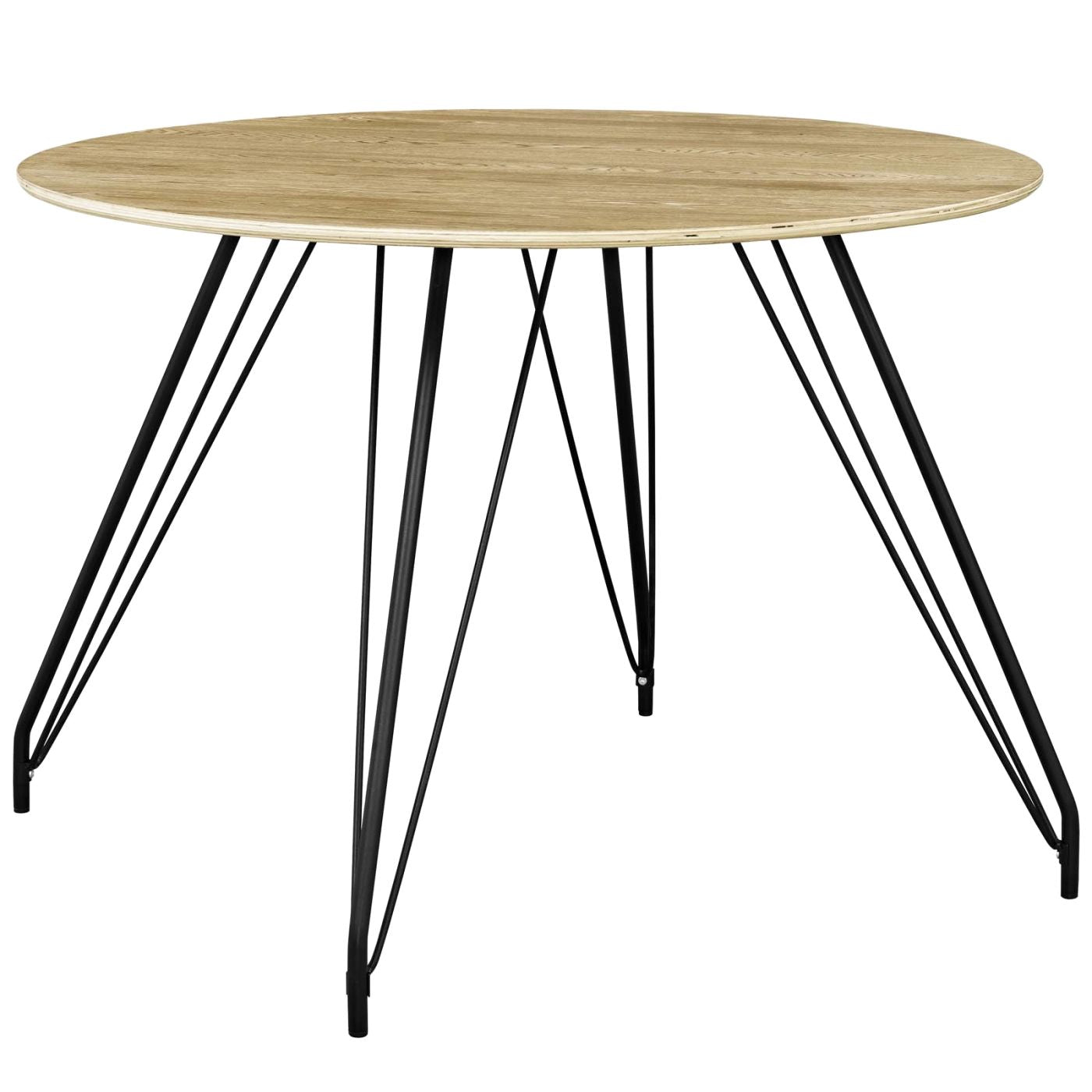 Modway Dining Tables On Sale Eei 2670 Nat Set Satellite Mid Century Modern Round Dining Table Only Only 242 05 At Contemporary Furniture Warehouse