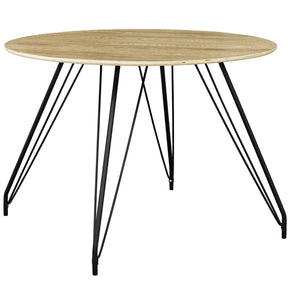 Satellite Circular Dining Table Natural