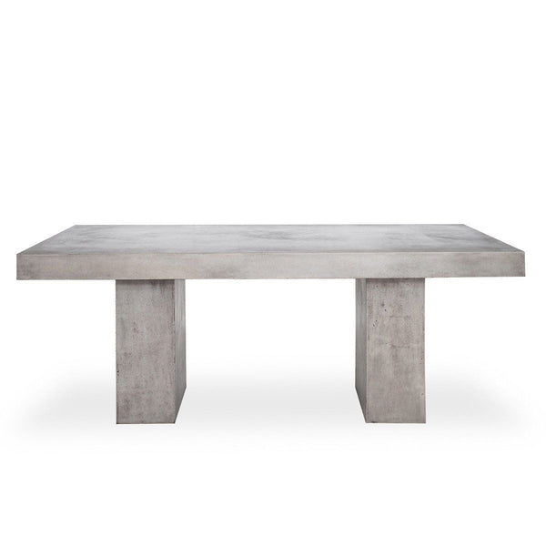 Dining Tables - Moes Home Collection BQ-1000-25 Antonius Fiberstone Dining Table Concrete | 849043062954 | Only $1449.00. Buy today at http://www.contemporaryfurniturewarehouse.com