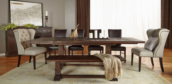 Buy Orient Express Furniture 6015 Rjav Hudson Extension Dining Table
