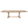 Dining Tables - Orient Express Furniture 6015.SW Hudson Extension Dining Table Stone Wash | 842279101695 | Only $1429.00. Buy today at http://www.contemporaryfurniturewarehouse.com