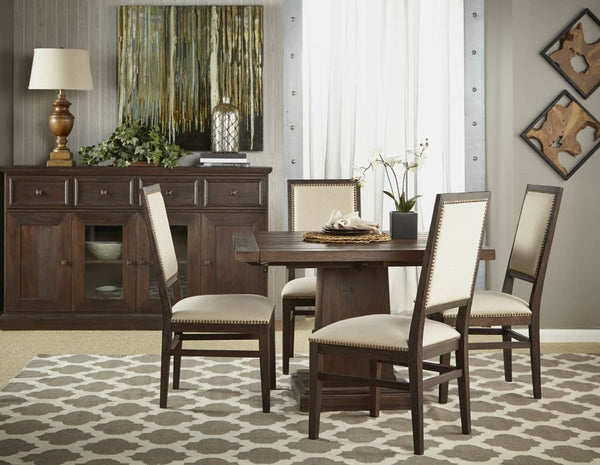 ... Hudson Square Extension Dining Table Rustic Java ...