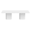 Dusk 2 - Set Of Two 51'' Tables High Gloss White