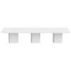 Dusk 3 - Set Of Three 51'' Tables High Gloss White