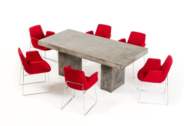 Modern Concrete Dining Table