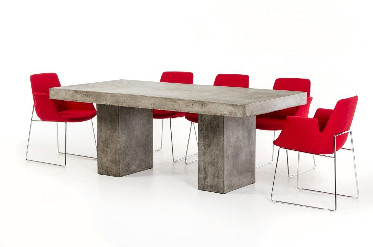 Vig furniture modern concrete dining table vggr640590 for Contemporary furniture warehouse