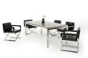 Modrest Retna Modern Concrete Dining Table