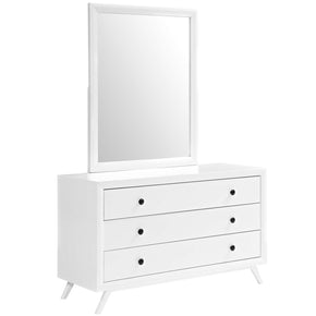 Tracy Dresser And Mirror White
