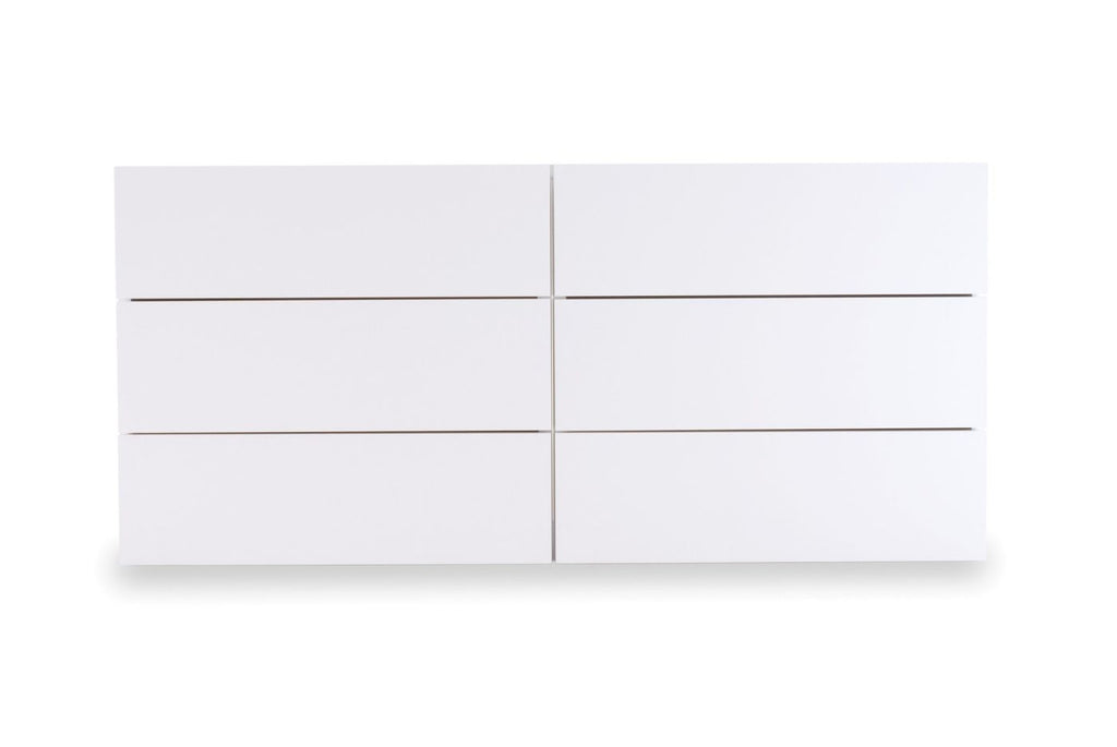 Dressers - TemaHome 9300.756481 Float Dresser Pure White | 5603449756481 | Only $1442.00. Buy today at http://www.contemporaryfurniturewarehouse.com