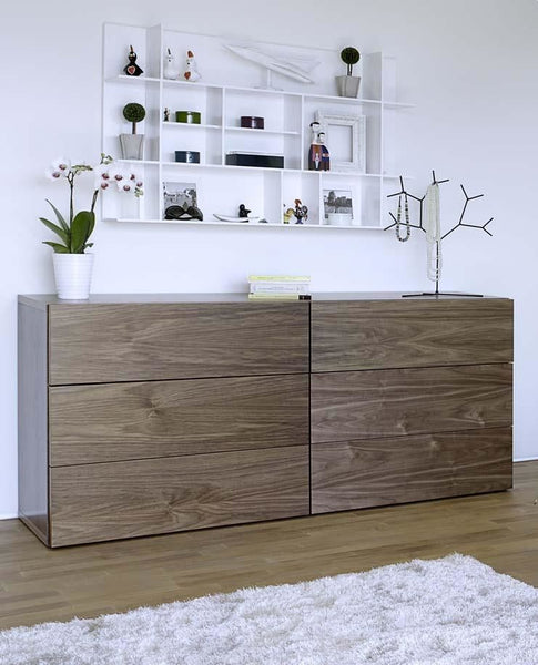 Float Dresser Walnut