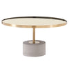 Andrea Coffee Table Brushed Gold