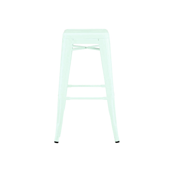 Dreux Matte Mint Steel Stackable Counter Stool 26 Inch (Set of 4)