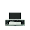 Entertainment Stands - Manhattan Comfort MHC-15484 Cabrini TV Stand 1.8 in White Gloss | 7898357112773 | Only $499.90. Buy today at http://www.contemporaryfurniturewarehouse.com