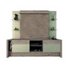 Entertainment Stands - Manhattan Comfort MHC-22955 Morning Side Freestanding Theater Entertainment Center in Nature and Nude | 7898357114111 | Only $597.90. Buy today at http://www.contemporaryfurniturewarehouse.com
