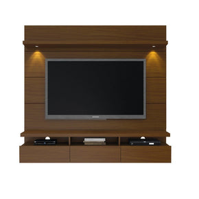 Entertainment Stands - Manhattan Comfort MHC-23751 Cabrini 1.8 Floating Wall Theater Entertainment Center in Nut Brown | 7898357114012 | Only $749.90. Buy today at http://www.contemporaryfurniturewarehouse.com