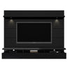 Entertainment Stands - Manhattan Comfort MHC-23853 Cabrini 2.2 Floating Wall Theater Entertainment Center in Black Gloss and Black Matte | 7898357114180 | Only $797.90. Buy today at http://www.contemporaryfurniturewarehouse.com