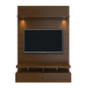 Entertainment Stands - Manhattan Comfort MHC-24951 Cabrini 1.2 Floating Wall Theater Entertainment Center in Black Gloss and Black Matte | 7898594052788 | Only $597.90. Buy today at http://www.contemporaryfurniturewarehouse.com