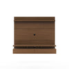 City 1.8 Floating Wall Theater Entertainment Center in Nut Brown
