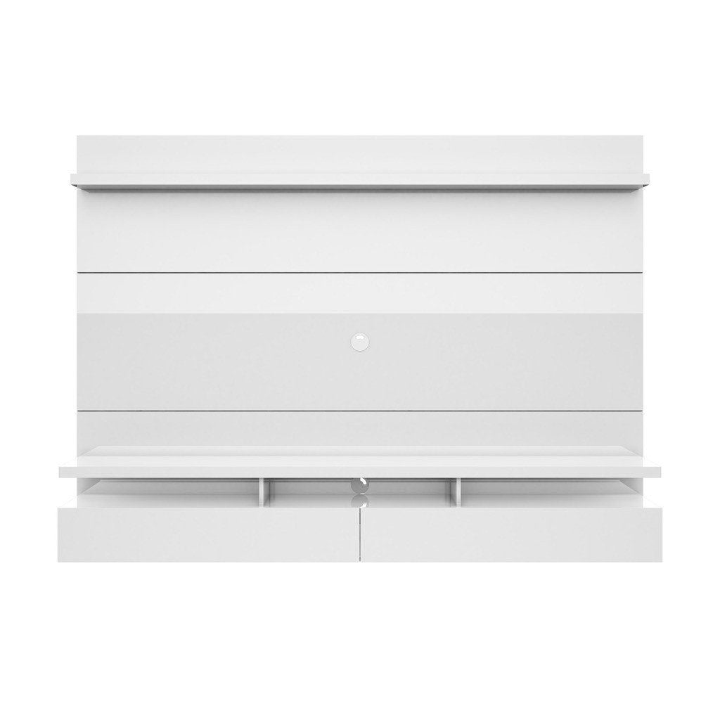 Entertainment Stands - Manhattan Comfort MHC-25252 City 2.2 Floating Wall Theater Entertainment Center in White Gloss | 7898594053822.00 | Only $597.90. Buy today at http://www.contemporaryfurniturewarehouse.com