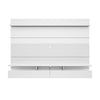 City 2.2 Floating Wall Theater Entertainment Center in White Gloss