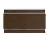Lincoln Floating Wall TV Panel 2.4 with LED Lights in Nut Brown